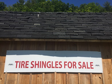 tire shingles sign